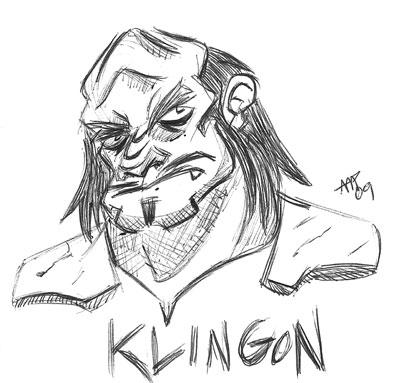 klingon sketch