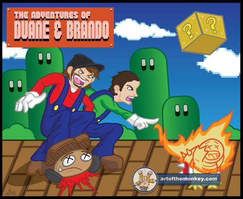 Promo Artwork: The Adventures of Duane & Brando