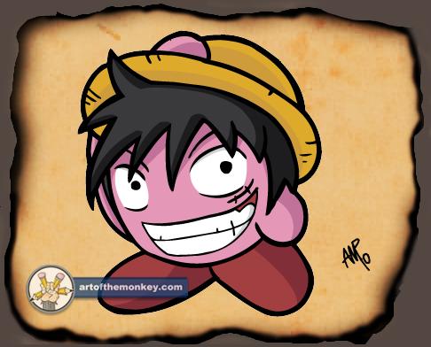 Luffy Kirby