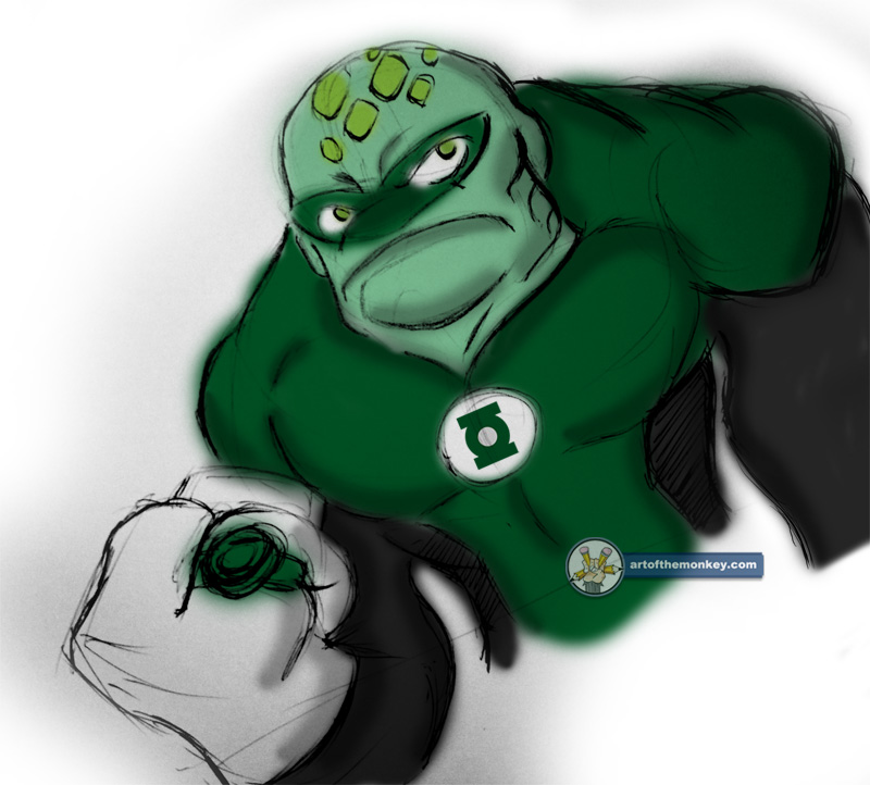 Green Lantern: Greenman