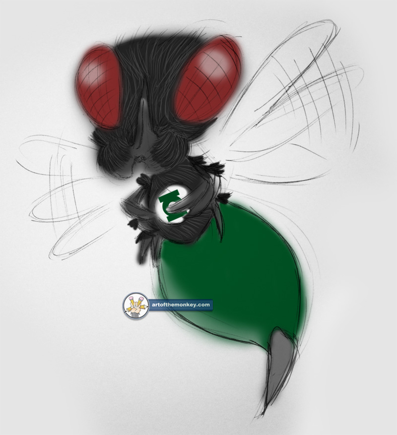 Green Lantern: Bzzd