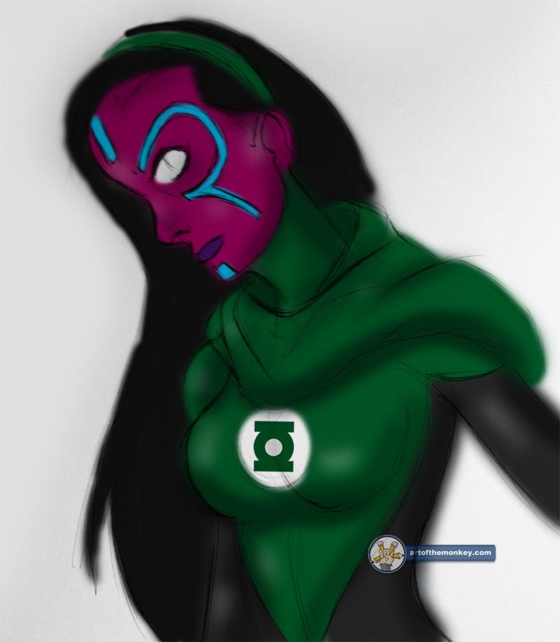 Green Lantern: Iolande