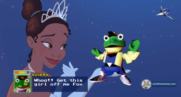 Princess and the Slippy?